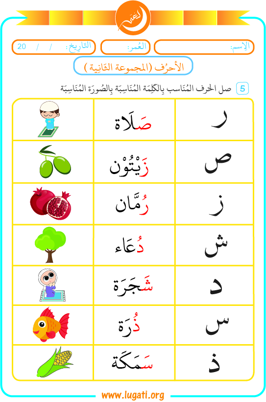 Letters exercises 2-3